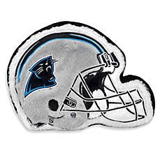 NFL Carolina Panthers Helmet Throw Pillow