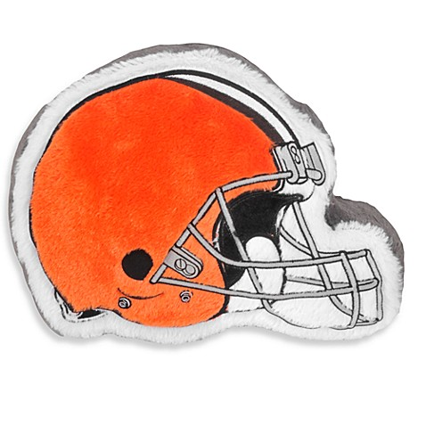 NFL Cleveland Browns Helmet Throw Pillow