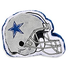 NFL Dallas Cowboys Helmet Throw Pillow