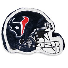 NFL Houston Texans Helmet Throw Pillow