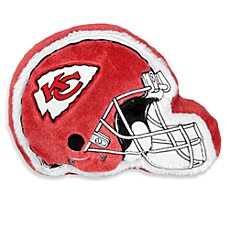 NFL Kansas City Chiefs Helmet Throw Pillow