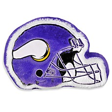 NFL Minnesota Vikings Helmet Throw Pillow