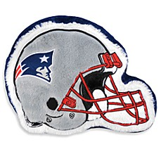 NFL New England Helmet Throw Pillow