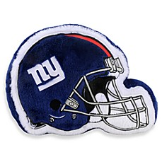 NFL New York Giants Helmet Throw Pillow