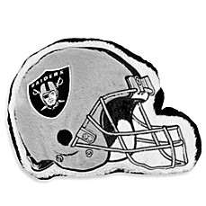 NFL Los Angeles Raiders Helmet Throw Pillow