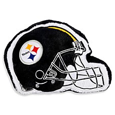 NFL Pittsburgh Steelers Helmet Throw Pillow