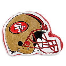 NFL San Francisco 49ers Helmet Throw Pillow
