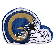 NFL St. Louis Rams Helmet Throw Pillow