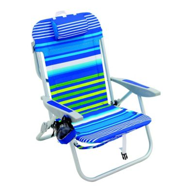 Five-Position Backpack Beach Chair