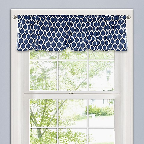 Morocco 14 inch window valance bed bath beyond for 14 inch window