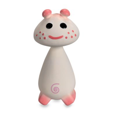 Vulli® Chan Pie Gnon Soft Rubber Toy in Pink