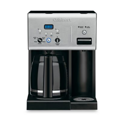 Cuisinart® Coffee Plus™ 12-Cup Programmable Coffee Maker with Hot Water System