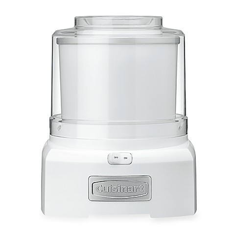 Cuisinart® Ice Cream/Yogurt Maker in White
