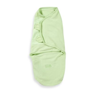 Summer Infant® SwaddleMe® Small Green 100% Cotton Infant Wrap