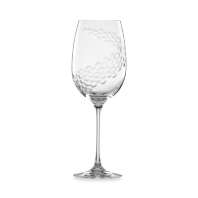 L by Lenox® Effervescence Crystal 12-Ounce Wine Glass
