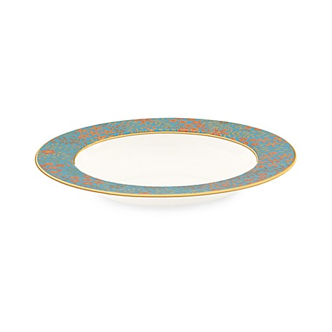 L by Lenox® Gilded Tapestry 9-Inch Pasta/Rim Soup Bowl