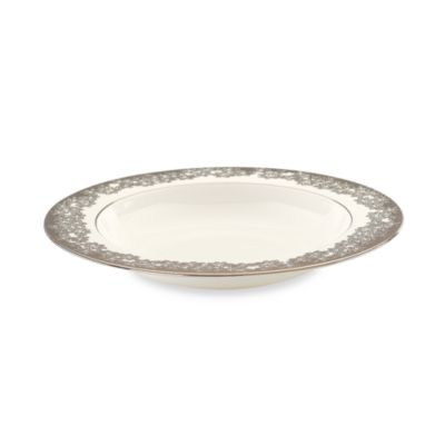 L by Lenox® Silver Bouquet 9-Inch Pasta/Rim Soup Bowl