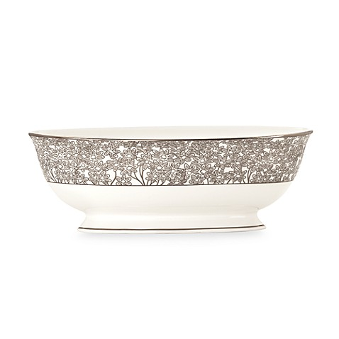 L by Lenox® Silver Bouquet 48-Ounce Vegetable Bowl