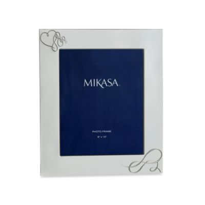 Mikasa 174 love story silver plated 8 inch x 10 inch frame