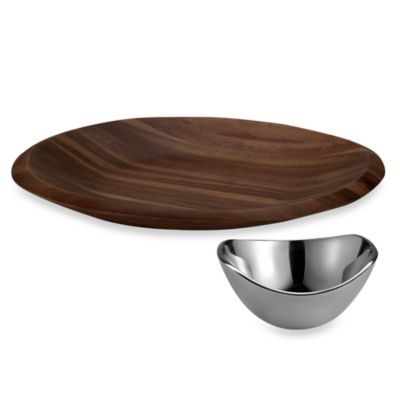 Dansk® Wood Classics Chip N' Dip Set