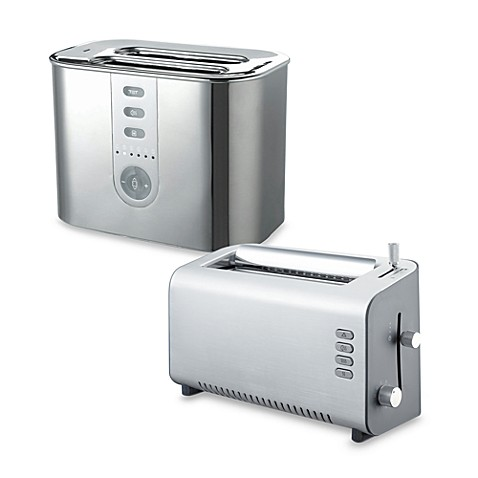 Delonghi Brushed Aluminum 2-Slice Toasters