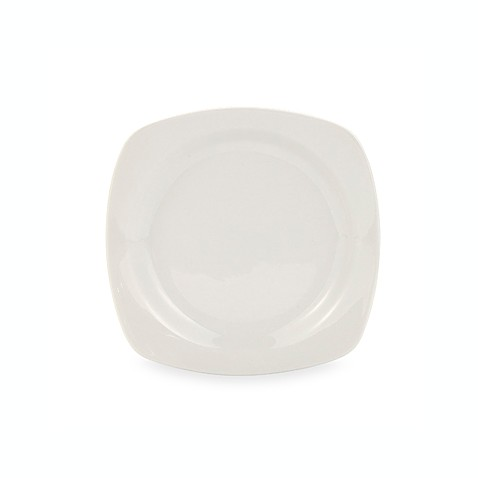 Oneida® Chef's Table™ Porcelain 8-Inch Square Salad Plates in White (Set of 4)