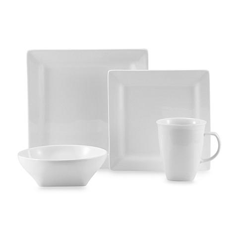 Oneida 174 Chef S Table White Porcelain Soft Square