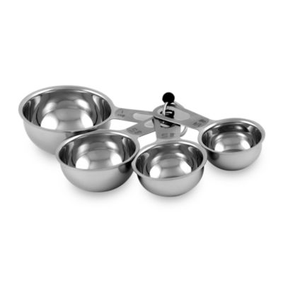 Culinary Institute of America® 4-Piece Stainless Steel Measuring Cup Set
