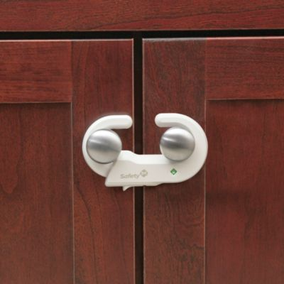 Safety 1st® Grip n-Foot Go Cabinet Locks (Set of 2)
