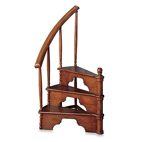 Cherry Attic/Bed Steps with Drawer