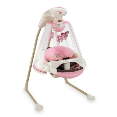 Fisher Price® Butterfly Cradle N' Swing