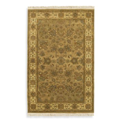 Babylon Tan 5-foot x 8-foot Room Size Rug