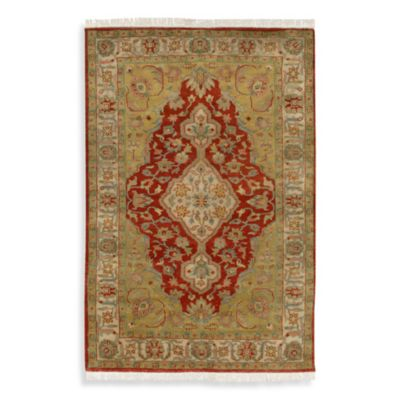 Adana Orange 5-Foot x 8-Foot Room Size Rug