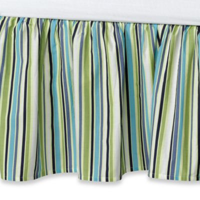 Lagoon Bed Skirt in Twin