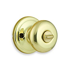 Juno Polished Brass Bedroom/Bathroom Door Knob