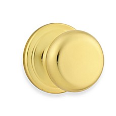 Juno Polished Brass Hall/Closet Door Knob