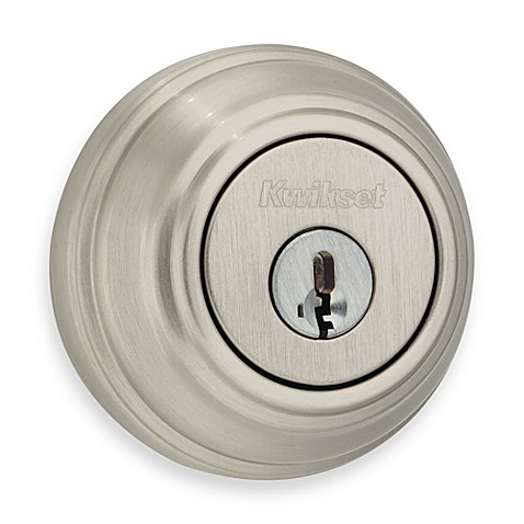 Kwikset® Satin Nickel Double Cylinder Deadbolt Featuring SmartKey