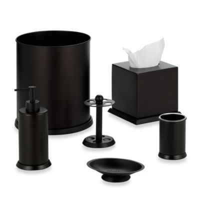 Stanton Oil Rubbed Bronze Boutique Tissue Holder