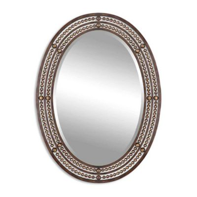 Framed Oil Rubbed Bronze Wall Mirror