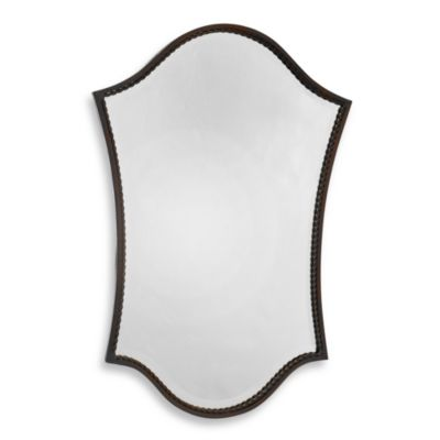 Bronze Lighted Vanity Mirror