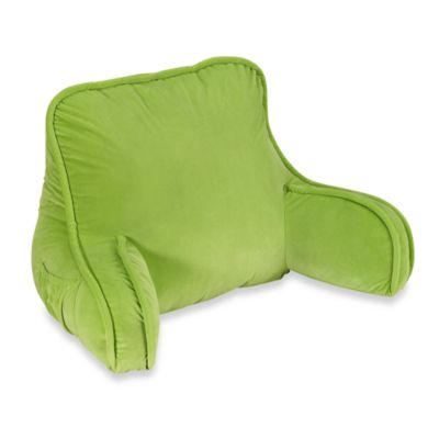 Plush Backrest - Parrot Green