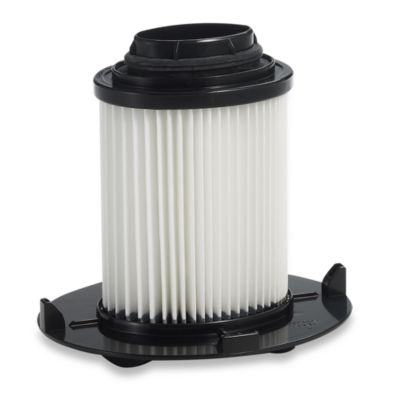 White Black Vacuum Filter
