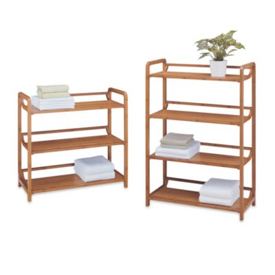 Neu Home Lohas3-Tiered Bamboo Shelf