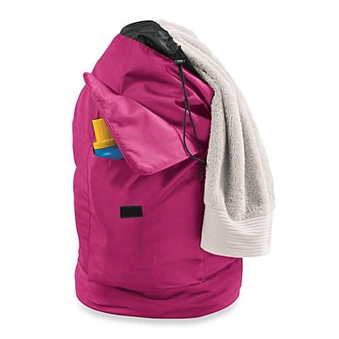 Laundry Backpack Bag - Fuchsia
