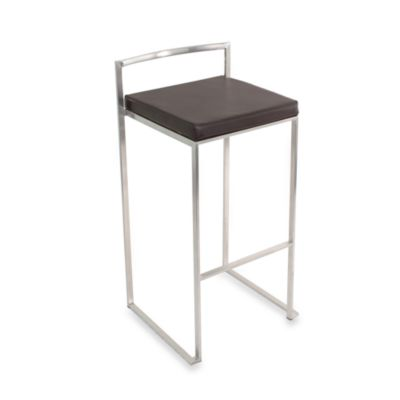 LumiSource Fuji Stacker Wenge Barstool