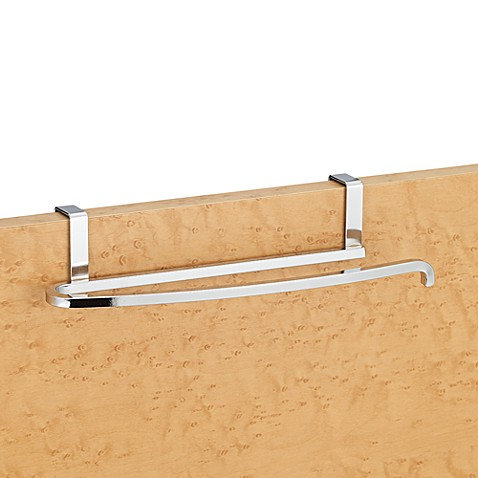 Lynk Over-the-Door Towel Bar in Satin Nickel