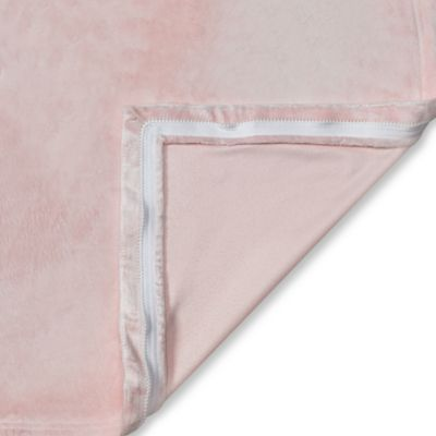 Clouds and Stars QuickZip® Replacement Crib Sheet in Pink Mink