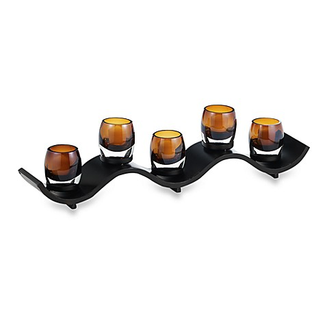 Solaris Wave Votive Centerpiece