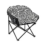 Idea Nuova Club Chair in Zebra