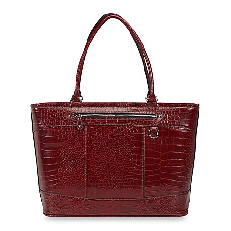 Exotic Tristan Work Tote in Red